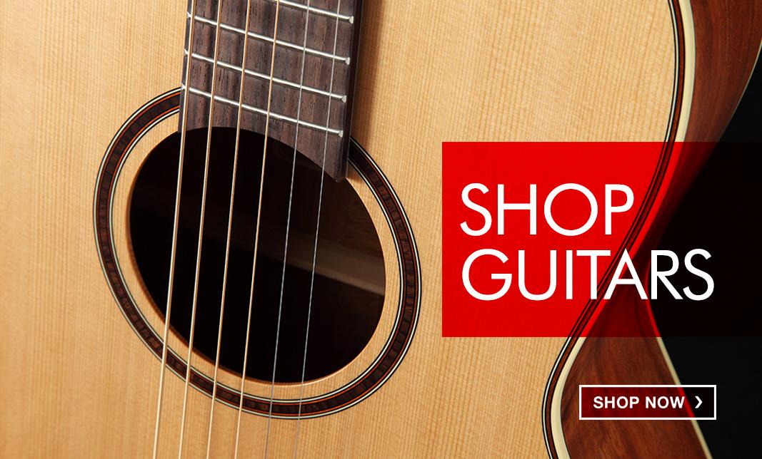 Electric & Acoustic Guitars