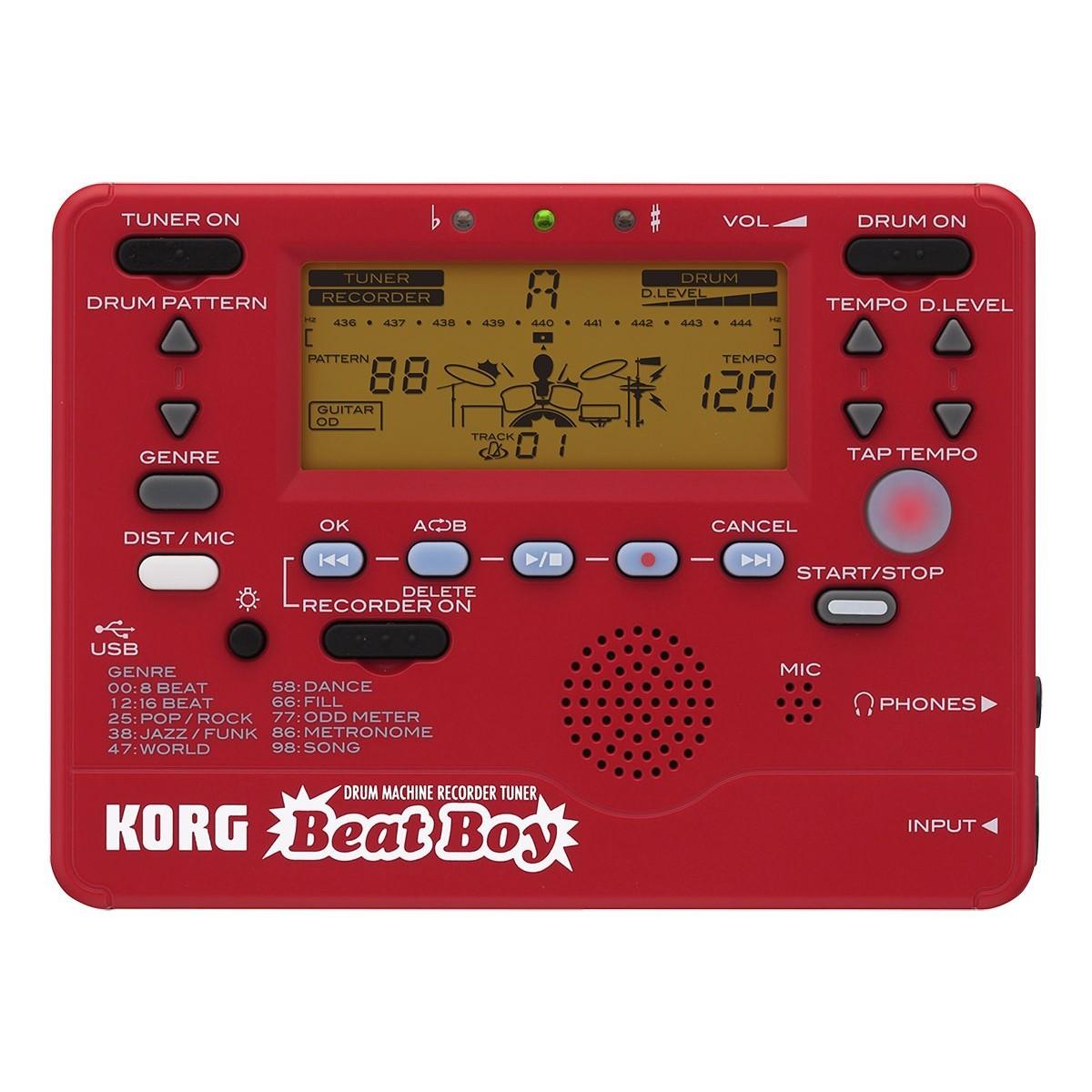 korg beat boy buy drum machine recorder guitar tuner best price. Black Bedroom Furniture Sets. Home Design Ideas