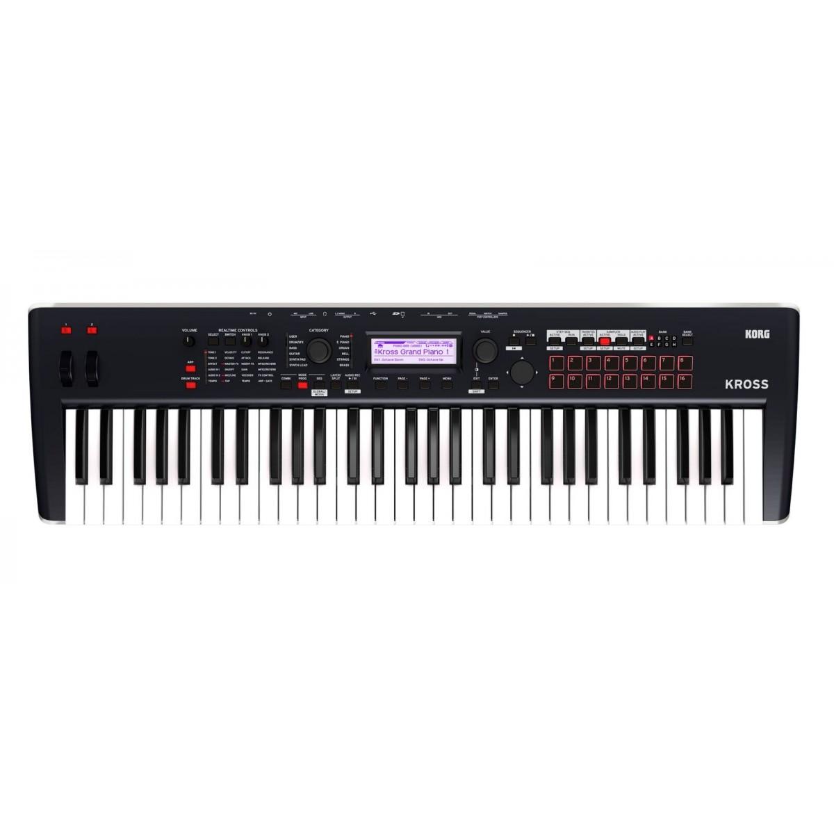 korg kross2 61 key synthesizer workstation. Black Bedroom Furniture Sets. Home Design Ideas