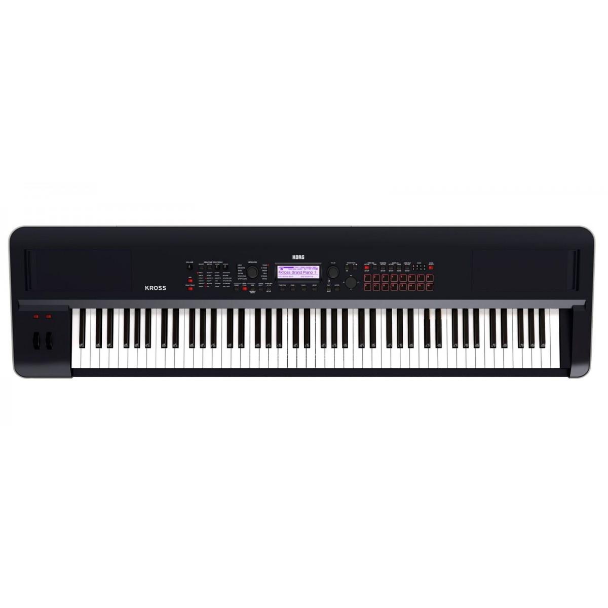 korg kross2 88 key synthesizer workstation. Black Bedroom Furniture Sets. Home Design Ideas