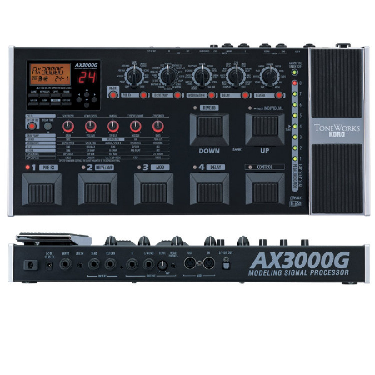 korg ax3000g buy guitar multi effects pedal best price. Black Bedroom Furniture Sets. Home Design Ideas