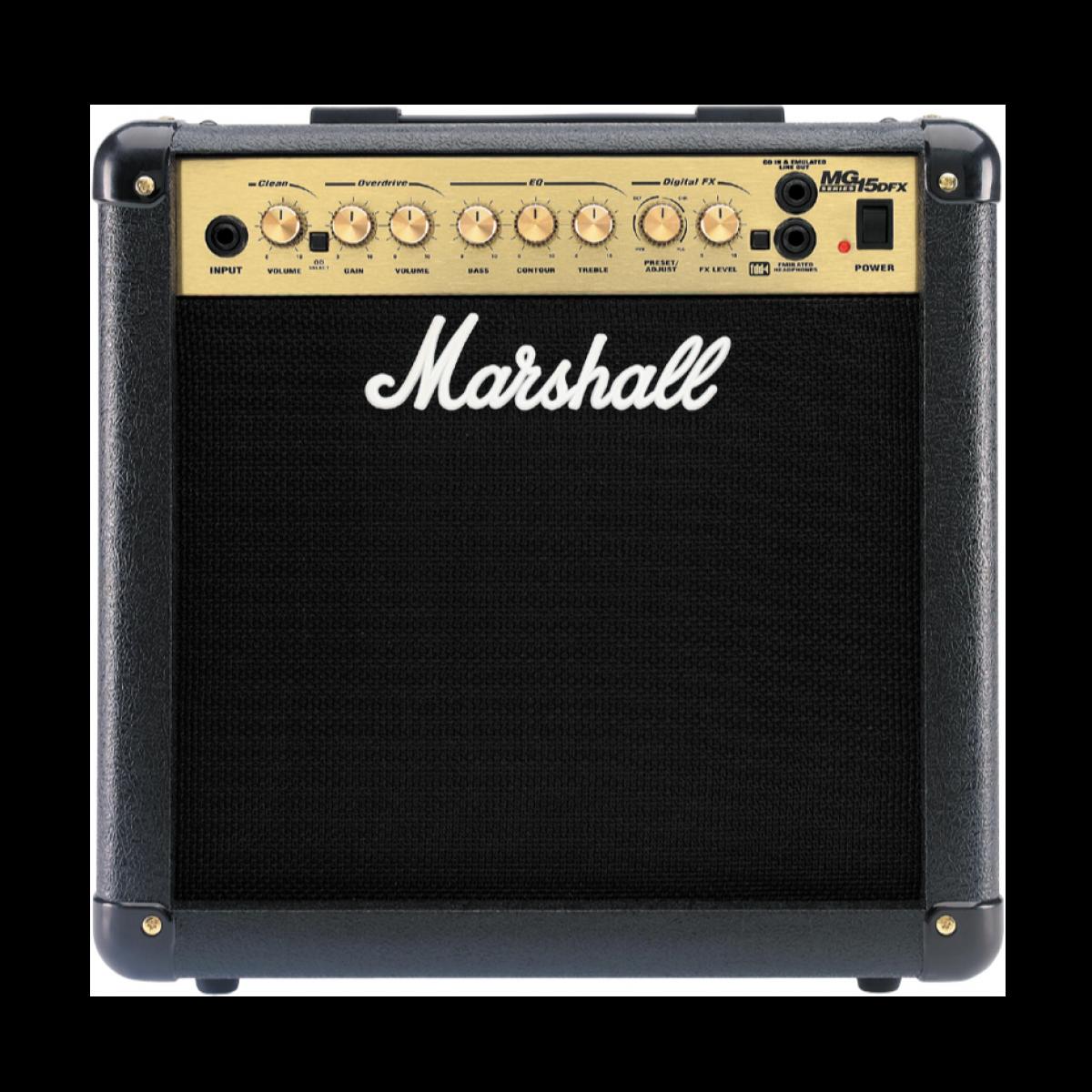 marshall mg15dfx combo amp guitar amps guitars. Black Bedroom Furniture Sets. Home Design Ideas