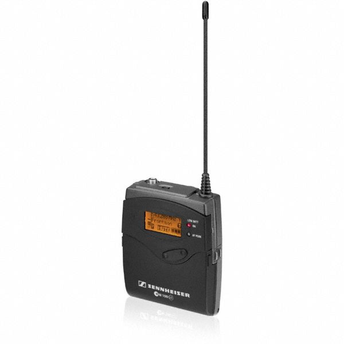 Sennheiser SK 100 G3-A-X Wireless Bodypack Transmitter - Microphones