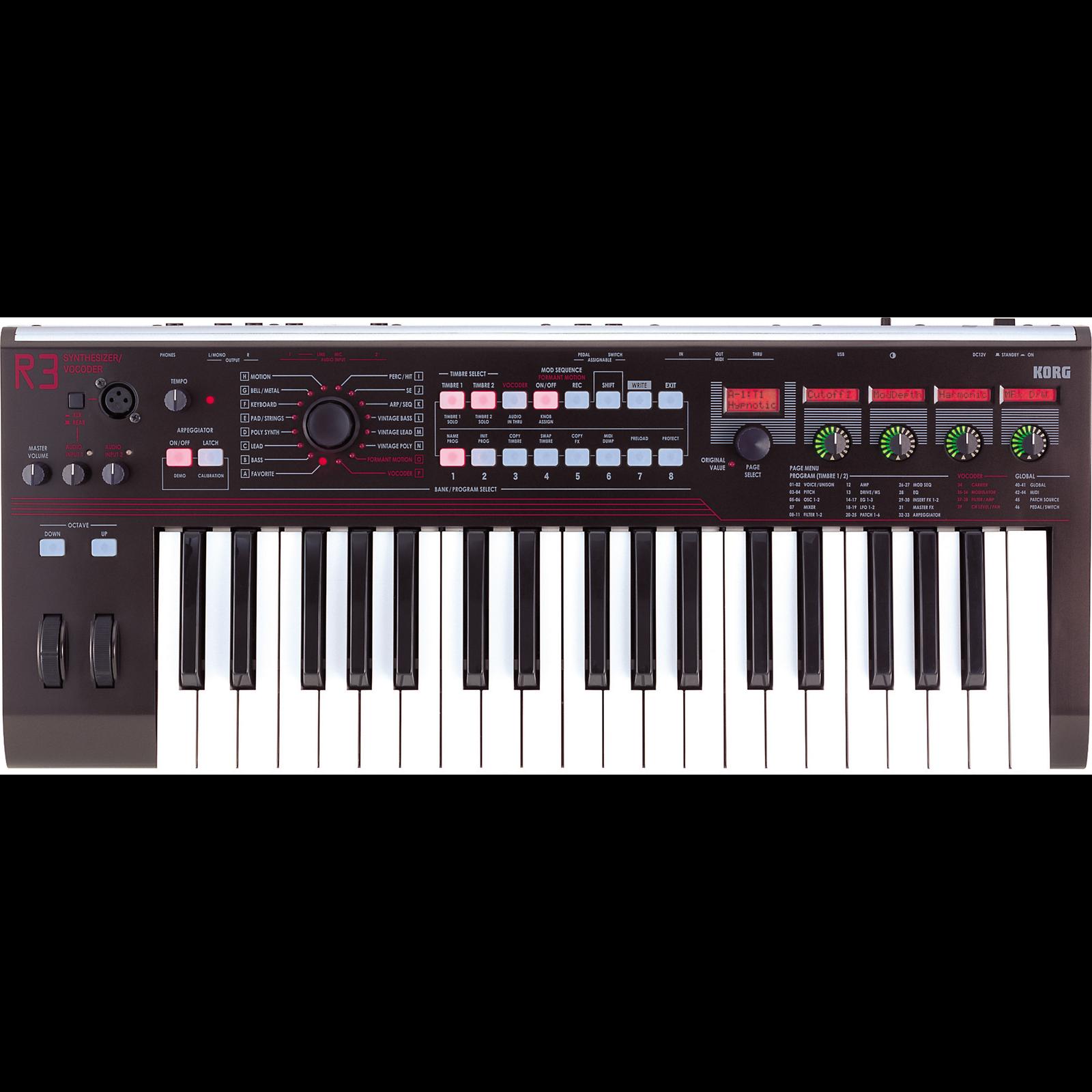Korg R3 | Buy Synthesizer | Best Price