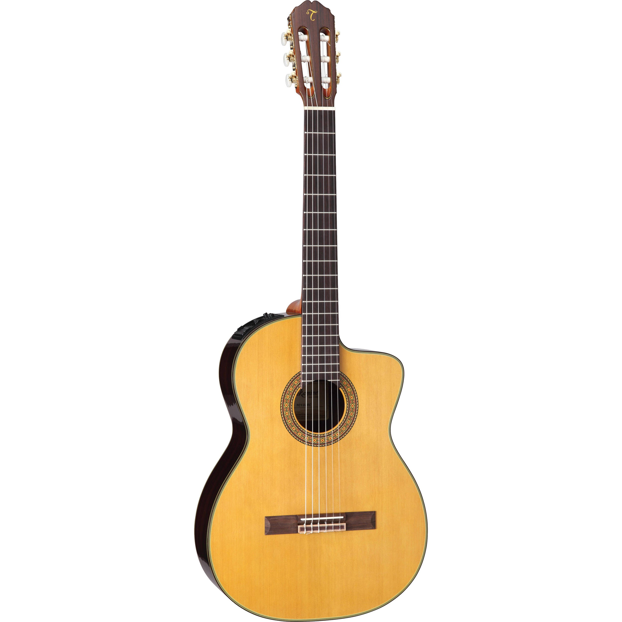 takamine tc132sc acoustic electric nylon string guitar with case. Black Bedroom Furniture Sets. Home Design Ideas