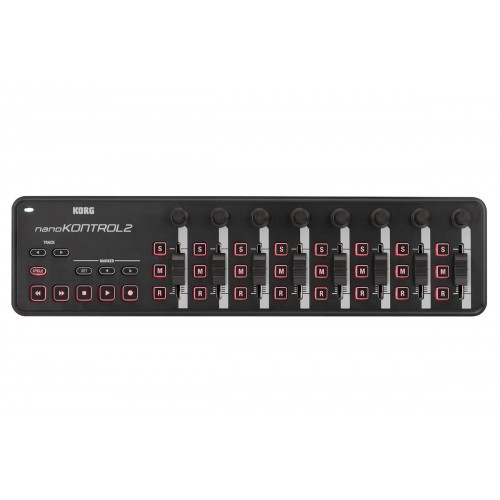 KORG NANO KONTROL 2 Slim-Line USB Controller Black