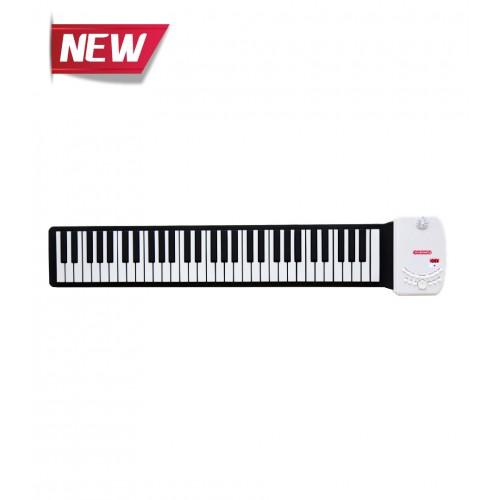 Musberry MFK-61 Keys Black Multi Function Hand Roll Keyboard