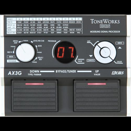 Korg AX3G Guitar Modeling Signal Processor