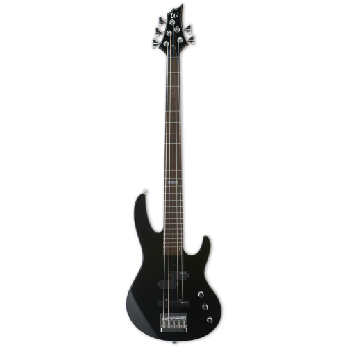 ESP LTD B-55 5-String Bass Guitar  Black