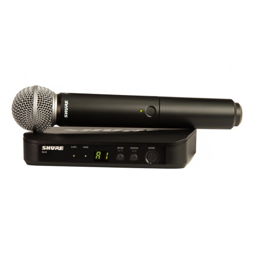 Shure BLX24UK/SM58X-K14 Handheld Wireless System