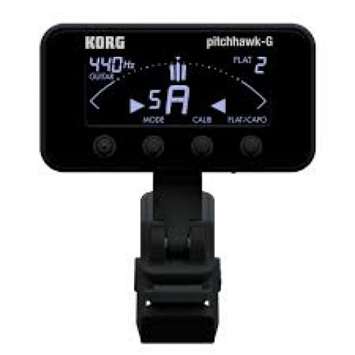 KORG AW 3G PITCHHAWK CLIP-ON CHROMATIC TUNER