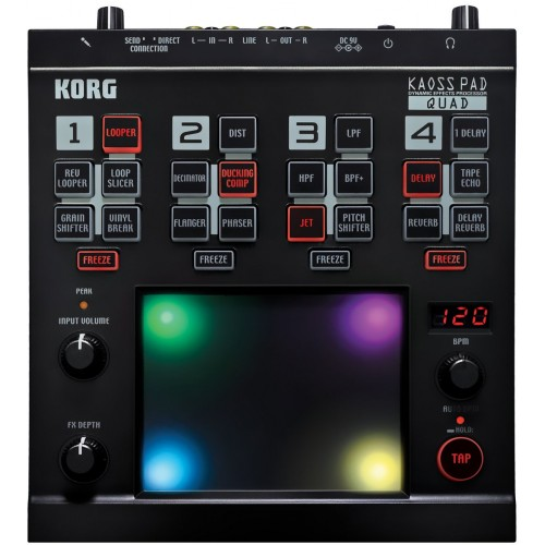 KORG KAOSS PAD QUAD Dynamic Effect Processor