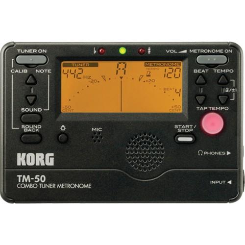 KORG TM 50 Combo Tuner Metronome