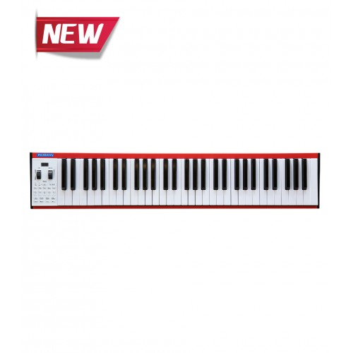 Musberry MSK-61 Keys Red  Portable Electronic Keyboard