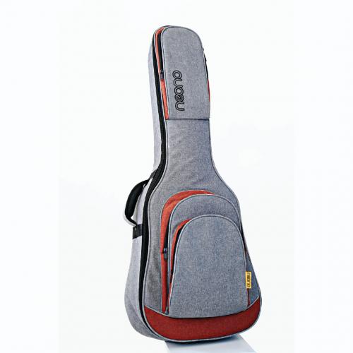 Neono NOVA Acoustic Guitar Premium Gig Bag - Red/Gray
