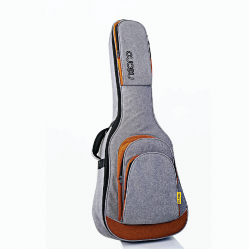 Neono NOVA Acoustic Guitar Premium Gig Bag - Yellow/Gray
