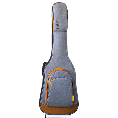 Neono NOVA Bass Guitar Premium Gig Bag - Yellow/Gray