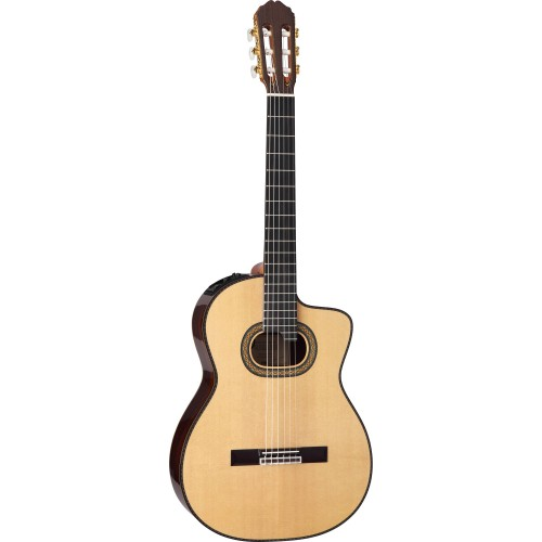Takamine TH90 Classic Acoustic-Electric Natural Gloss Guitar with Case