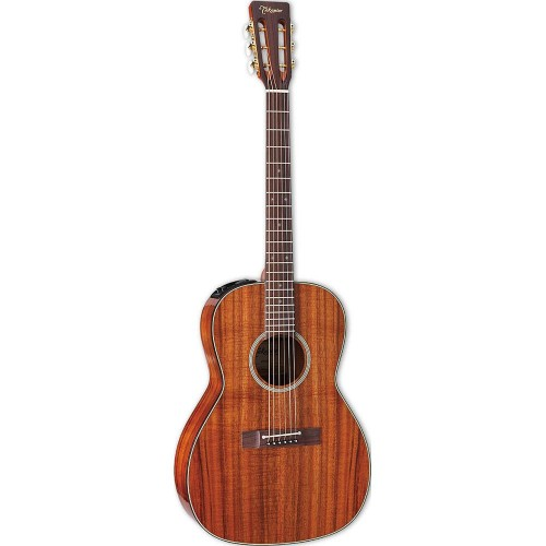 Takamine EF407 Acoustic Electric Natural Guitar with Case