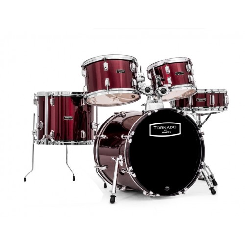 tornado by mapex tnd5844ft drum set acoustic drum kits drums. Black Bedroom Furniture Sets. Home Design Ideas