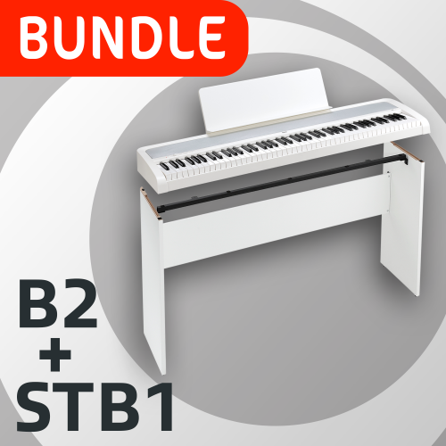 Korg B2 Digital Piano White + STB1 Stand BUNDLE OFFER