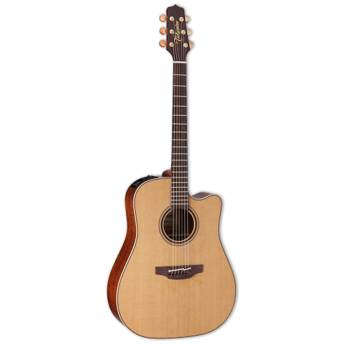 Takamine CP3DC-OV Acoustic Electric Natural Guitar with Case