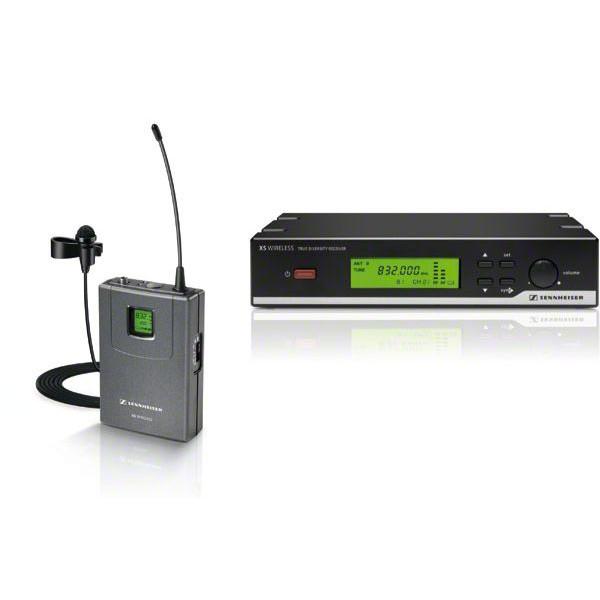 sennheiser xsw 12 d presentation set wireless lavalier microphone system. Black Bedroom Furniture Sets. Home Design Ideas
