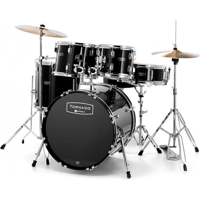 tornado by mapex tnd5044tc buy acoustic drum kit best price. Black Bedroom Furniture Sets. Home Design Ideas