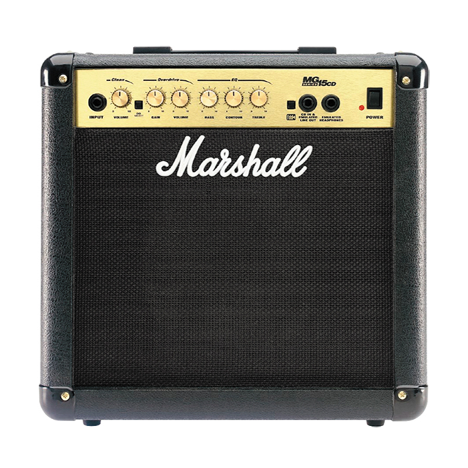 marshall mg15cd 15 watt combo buy solid state combo bass amps best price. Black Bedroom Furniture Sets. Home Design Ideas