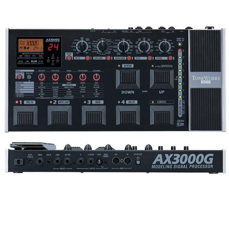 korg ax3000g buy guitar multi effects pedal best price. Black Bedroom Furniture Sets. Home Design Ideas