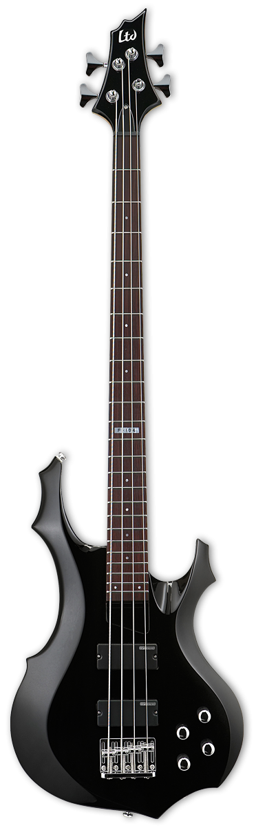 f 104 esp f 104 electric bass guitar black electric bass guitars ESP LTD Tom Araya at virtualis.co