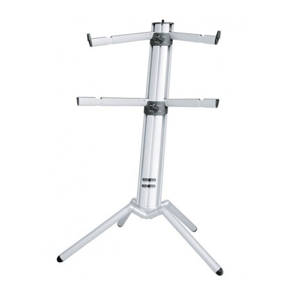K&M 18860 Spider-Pro Keyboard stand - Silver