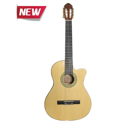 Passion CG-851 CE 39 Classical Guitar with 2 Band EQ