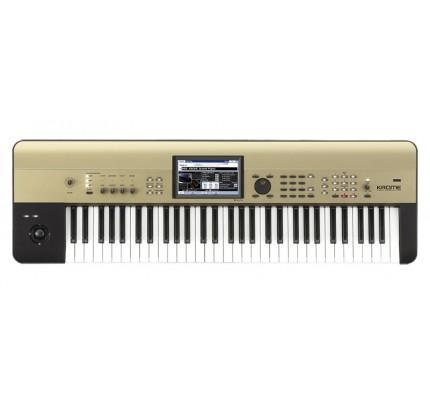 Korg Krome 61 Keys Workstation Keyboard - Gold Limited Edition