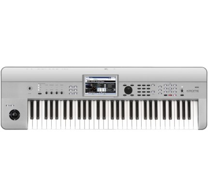 Korg Krome 61 keys Synthesizer Workstation Keyboard - Limited Edition Platinum