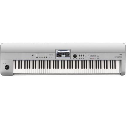 Korg Krome 88-key Synthesizer Workstation Keyboard - Limited Edition Platinum