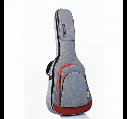 Neono NOVA Classic Guitar Premium Gig Bag - Red/Gray