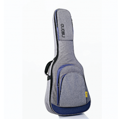 Neono NOVA Acoustic Guitar Premium Gig Bag - Blue/Gray