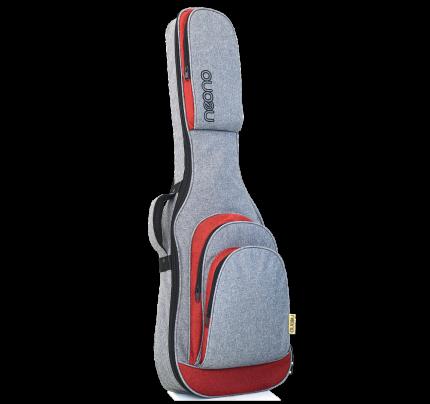 Neono NOVA Electric Guitar Premium Gig Bag - Red/Gray