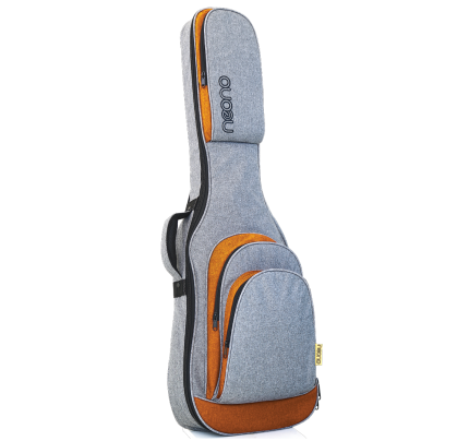 Neono NOVA Electric Guitar Premium Gig Bag - Yellow/Gray