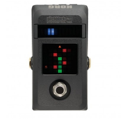 KORG PITCH BLACK POLY Polyphonic Tuner Pedal